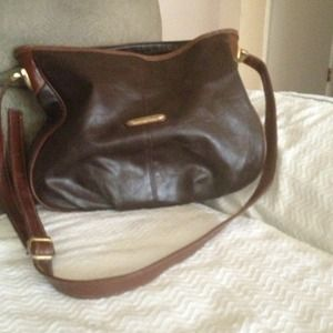 73% off Handbags - Soft butter cream leather purse. from Maggie's ...