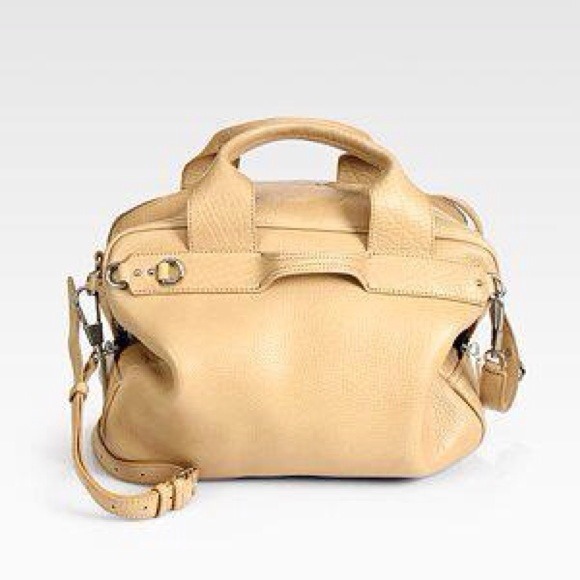 3.1 Philip Lim Handbags - Phillip Lim Nude Lark Small Duffel Bag