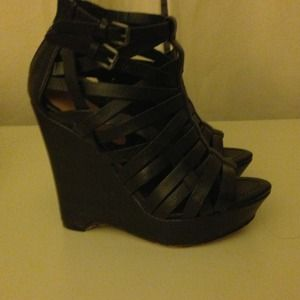 High Wedge Shoes
