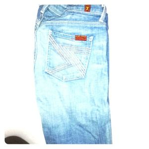 7 for all mankind Flynt boot cut jean
