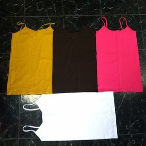 NWT cami's one size