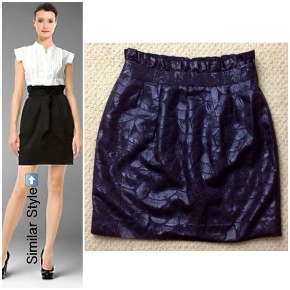 """Arden B. """"paperbag"""" skirt"""