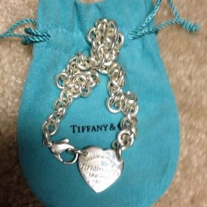 Jewelry - Tiffany & Co. -Sterling Silver Heart Necklace