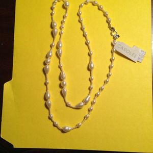 Carolee NEW pearl necklace. 34 inch long
