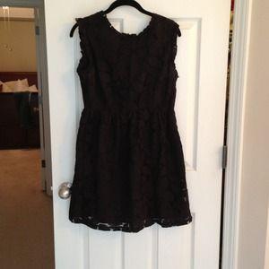 Tulle black dress