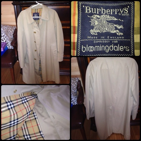 3d7b538a Burberrys expressly for Bloomingdale's trenchCoat