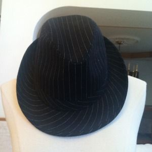 Accessories - Black fedora.