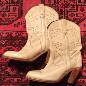 Frye Boots - Vintage Frye Cowboy Boots