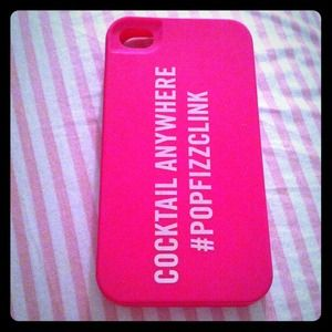 kate spade Accessories - New without box hot pink Kate Spade iPhone 4 cover