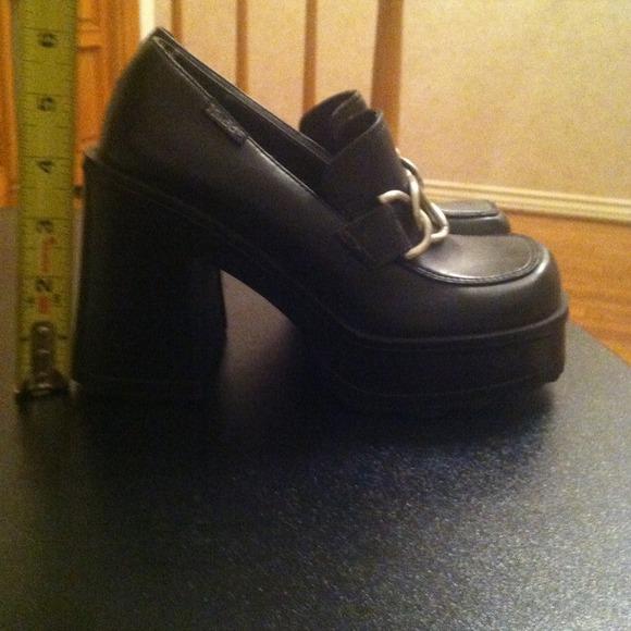 80 mudd shoes black mudd platform shoes from