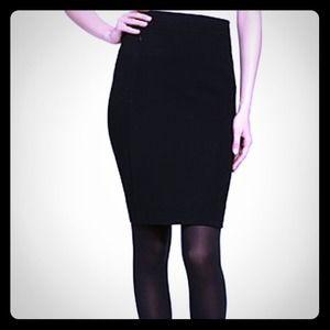Perfect pencil skirt. New! Has pockets. Black.