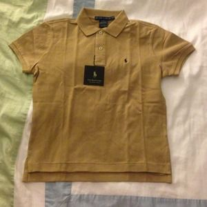 Brown ralph lauren polo shirt on poshmark for Light brown polo shirt