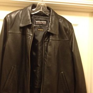 Other - REDUCED  Men's  leather jacket by Wilson!