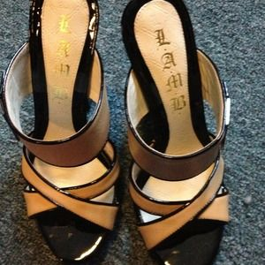 L.A.M.B. Shoes - ✂Reduced price Lamb patent leather high sandals 💋