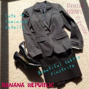 SALE Brand new Banana Republic pinstripe blazer!