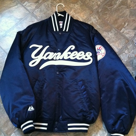 Majestic Jackets   Blazers - Yankee Jacket- Authentic Majestic Athletic  Apparel 7ffc80929be5