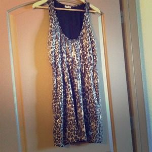 Rodarte Leopard Sequin Dress