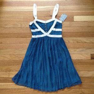 🎉 HOST PICK 🎉 Anthro Burlapp Turquoise Dress