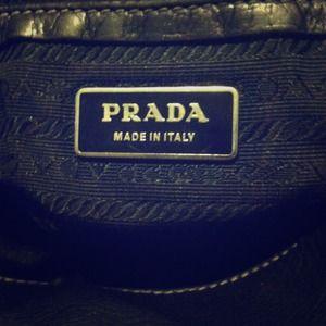 used prada handbag