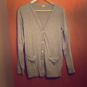 J. Crew Sweaters - J. Crew grey cardigan