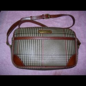 Vintage Polo Ralph Lauren Plaid Crossbody