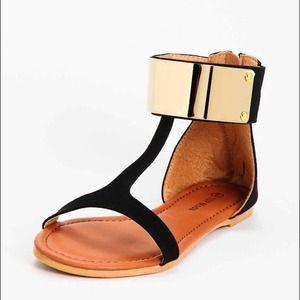 Beautiful summer sandals