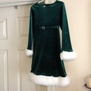 Girls Gorgeous holiday dress! Worn once!