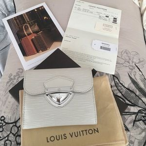 Louis Vuitton epi Joey wallet