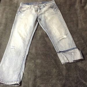 American Eagle denim jeans/Capri.