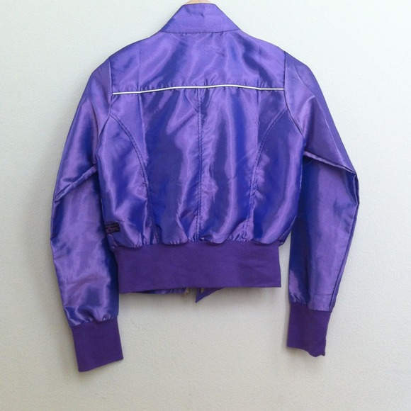 jagthug - NWOT Thin Purple Bomber Jacket from Isabella's closet on ...