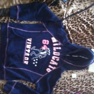 Outerwear - Vintage pink panther wildcats hoodie