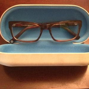 Warby Parker chestnut brown women's eyeglasses