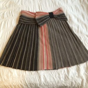 Hoss knit skirt... Missoni-esque coloring.