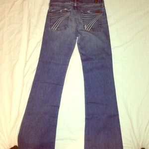 "7 for all Mankind ""dojo"" jeans. Sz-27"