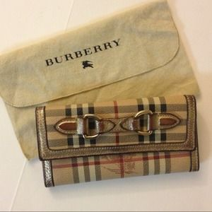 Burberry Clutches & Wallets - Authentic Burberry Continental Wallet