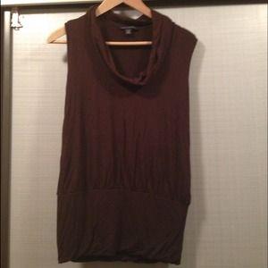 Banana Republic Brown sleeveless top size XS