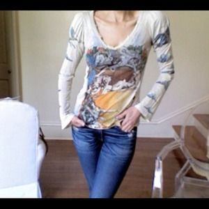 Sexy BoHo Chic Long Sleeve T
