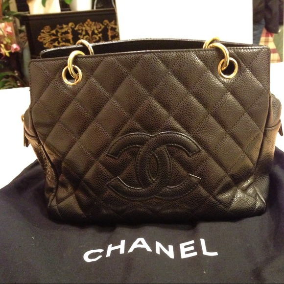 39944a1a8a94f3 CHANEL Handbags - 💢TRADED💢Auth chanel caviar PTT timeless tote