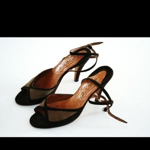 Catalina brown suede sandals
