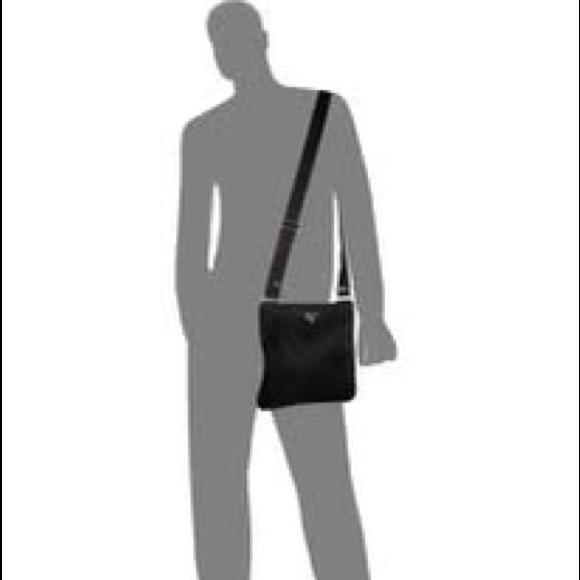 58% off Prada Handbags - Prada Messenger Bag (B7338 Black) from ...