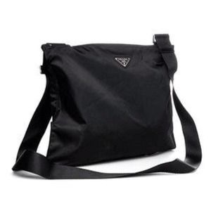 Prada Messenger Bag (B7338 Black)