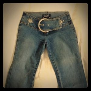 Angels stretch jeans flared. 3 from Tasha's closet on Poshmark