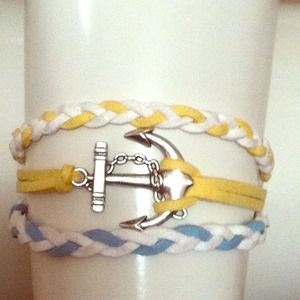 Accessories - Anchor bracelet:)