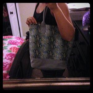 Handbags - Python print Tote or Handbag!