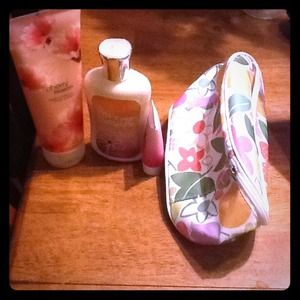 Other - Lotions and make up bag
