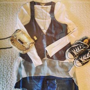 SOLD!! Racerback Grey Vest