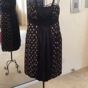 DVF bubble hem party dress