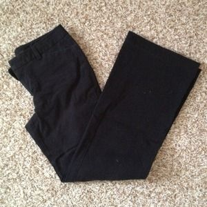 Gap stretch black pants