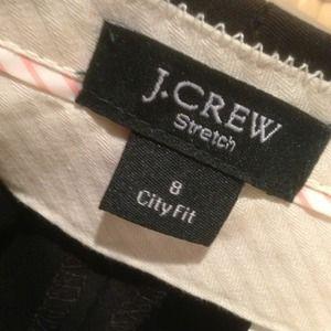 J. Crew Pants - Black j.crew, City Fit pant with stretch