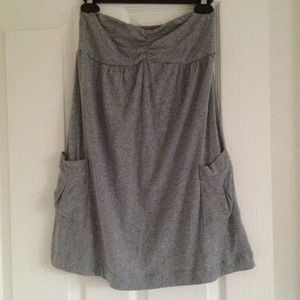 Forever 21 Dresses & Skirts - Heather gray strapless dress